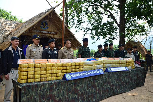 Paramilitary Rangers Seize 2 Million Speed Pills in Phayao Province