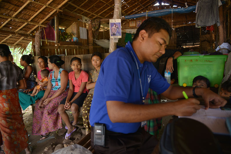 Office of Migration (IOM) operates mobile health clinics around Chiang Rai