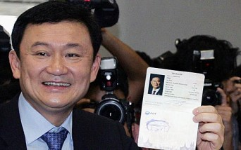 The foreign ministry said two passports belonging to Thaksin had been cancelled with effect from May 26.  Read more: http://www.3news.co.nz/world/thailand-revokes-ex-pm-thaksins-passports-2015052722#ixzz3bLDZguDV