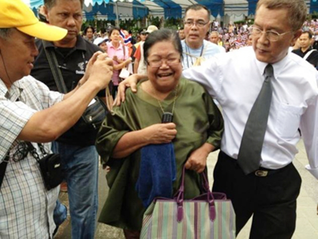 Mentally Unstable Thai Woman Gets One Year for Lese Majeste