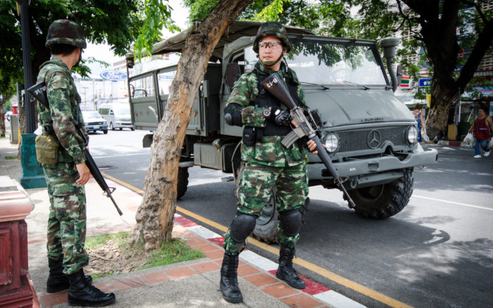 3,200 Security Personnel Deployed to Guard Gen.Prayut's Cabinet Meeting in Chiang Mai