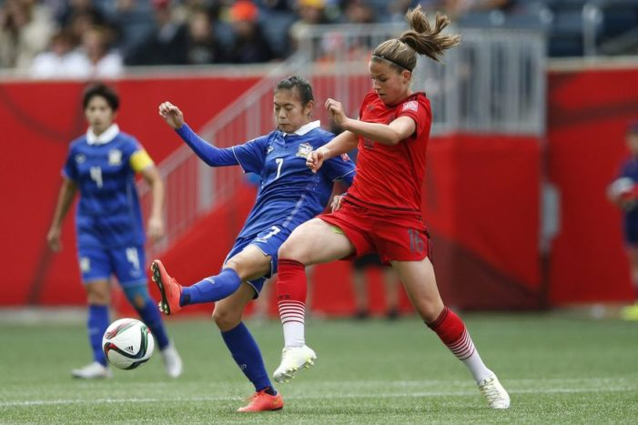 Despite Great Effort Thailand No Match for Germany at FIFA's Women's World Cup