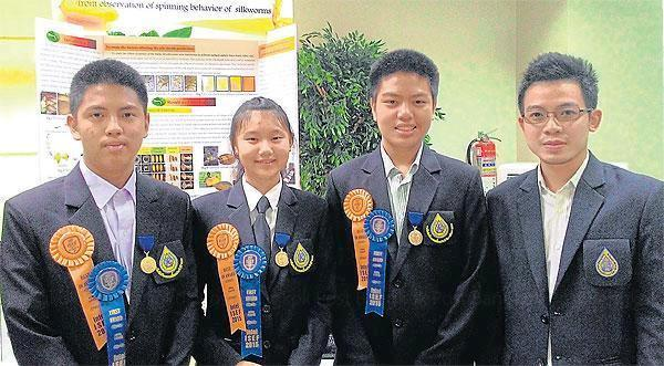 Chiang Rai Students Win Big at the Intel International Science and Engineering Fair (ISEF) in Pittsburgh, USA