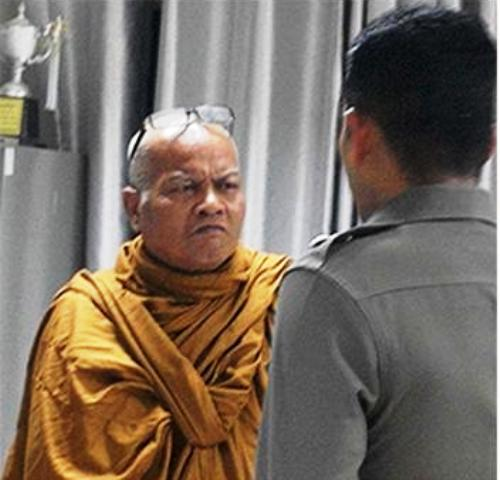 Abbot Phra Wirat and his junior monk Phra Ret face charges of raping the 16-year-old girl