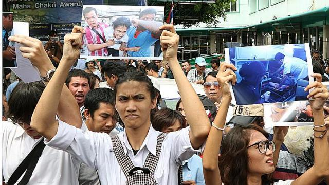 Thailand Student Charged over Pro Democracy Protest in Bangkok