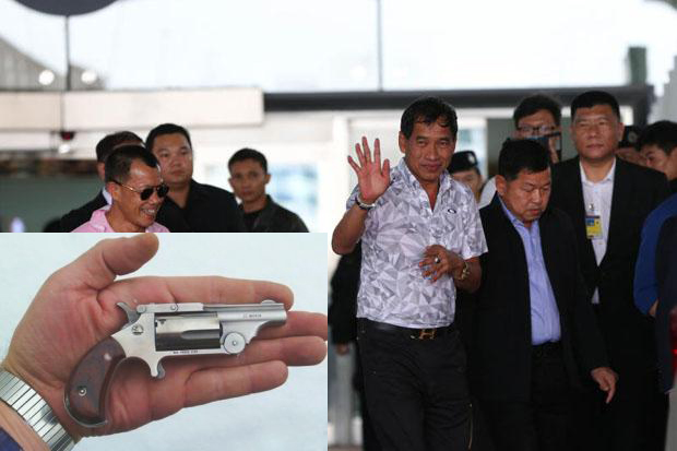 Chiang Rai Airport Tightens X-Ray Security after Retired Bangkok Police Chief Arrested with Gun in Japan
