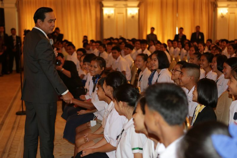 The curriculum was the idea of Prime Minister Prayut Chan-o-cha