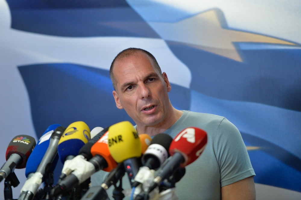 Former Greek finance minister Yanis Varoufakis