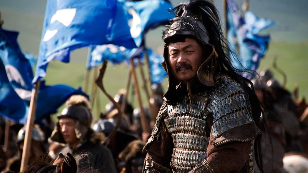 "The nine travelers ""watched a BBC documentary on Genghis Khan to further their understanding of the region"