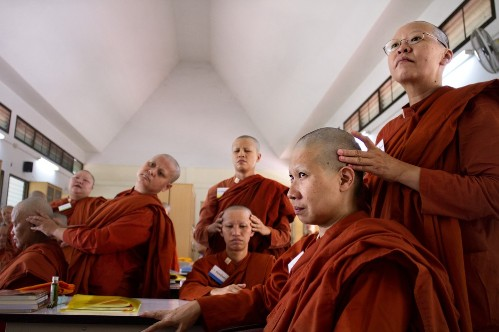 Gender Rights Advocates Look to Challenge Ban on Ordaining Female Monks