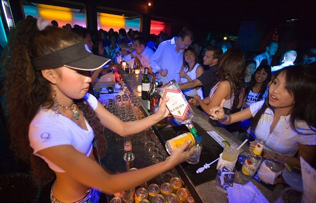 The Sukhumvit district of Bangkok is home to numerous illegal bars