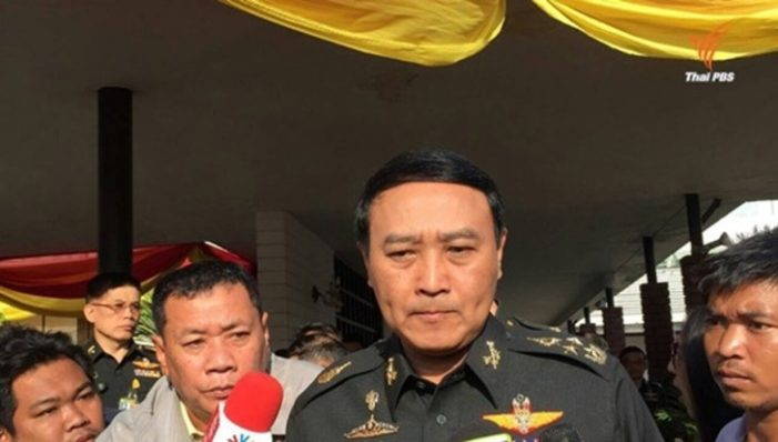 Thailand's Top General Says Thai Students Will Face Military Court