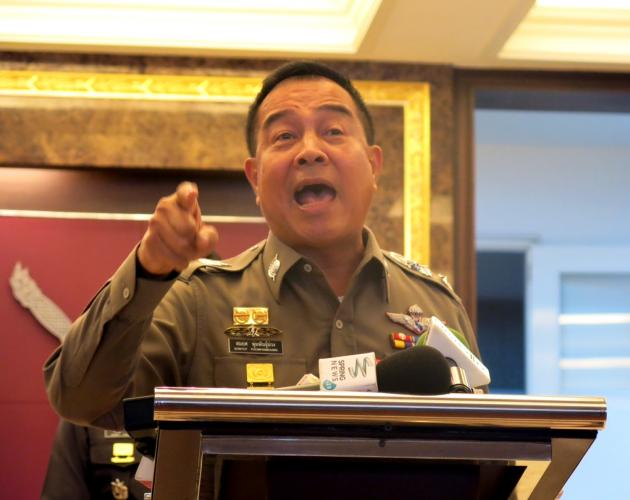 """""""It is not lost,"""" national police chief Gen. Somyot Poompanmoung told reporters in Bangkok. """"I repeat: Nothing is lost."""" - See more at: http://www.dailystar.com.lb/News/World/2015/Jul-10/306034-thai-police-chief-evidence-in-tourist-murder-trial-not-lost.ashx#sthash.R7o2Zlq5.dpuf"""