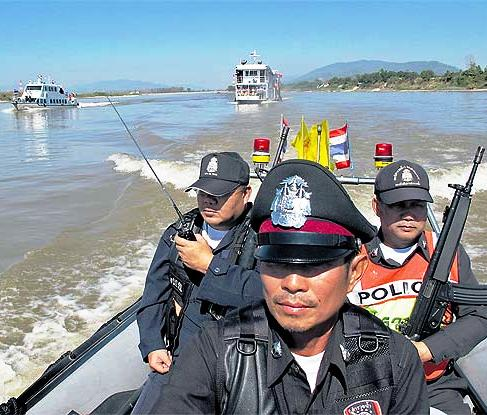 Mekong Authorities Step up Inspections in Search for Drugs