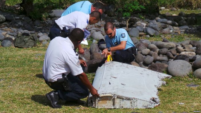 Debris Possibly from Malaysia Airlines Flight MH370 Found on the French Island of Reunion