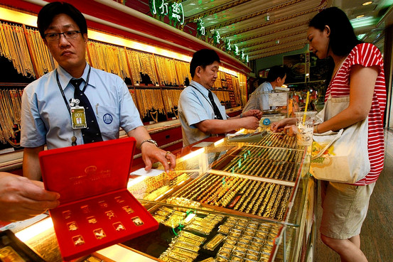 Thai Gold Prices Drop to the Lowest Level in Five Years