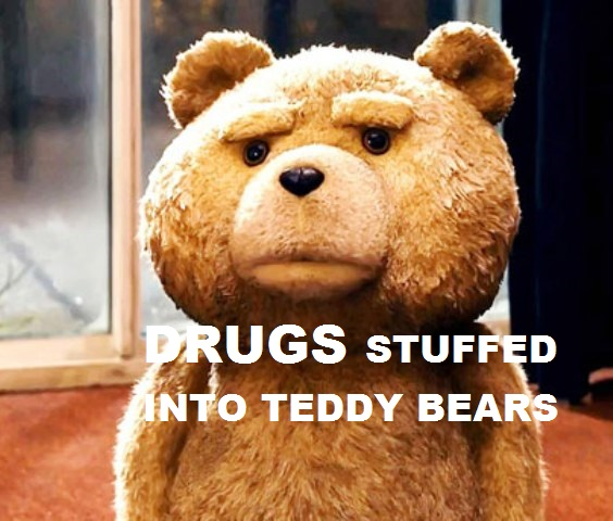 Three Chiang Rai Women Arrested For Smuggling Drugs in Teddy Bears