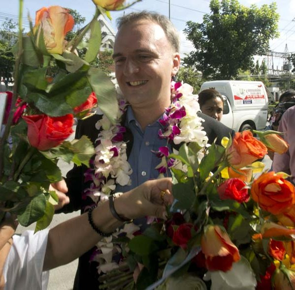 NGO's World Wide Urge Thai Courts to Drop Charges against Human Rights Activist Andy Hall