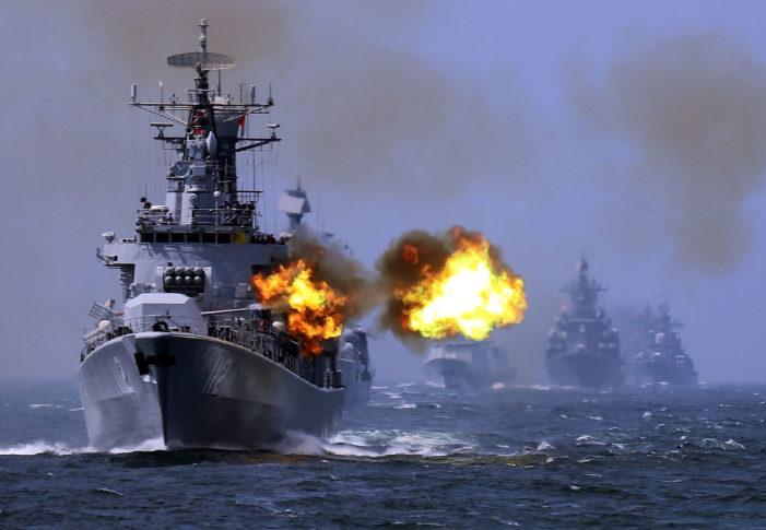 China Conducts Live Ammunition Air, Sea Drills in South China Sea