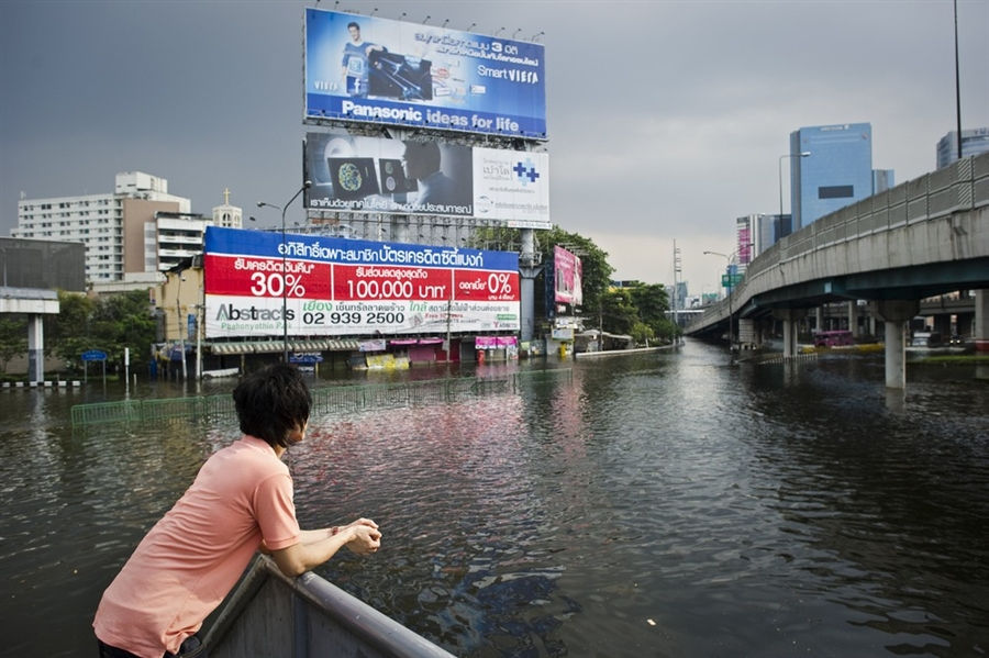 Thai capital, built on swampland, is slowly sinking