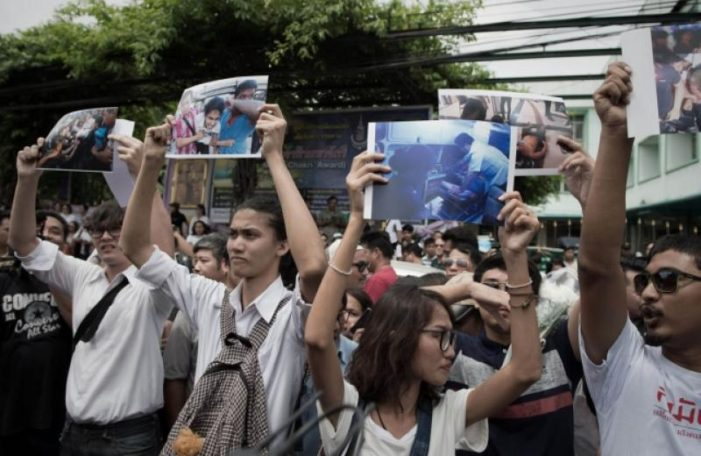 Thai Student Democracy Protesters ask for Open Military Court Proceedings