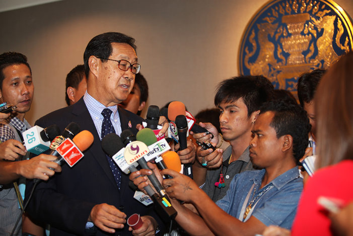 """Outgoing Thai Deputy Prime Minister Dislikes Prayut's """"Divide and Rule"""" System"""