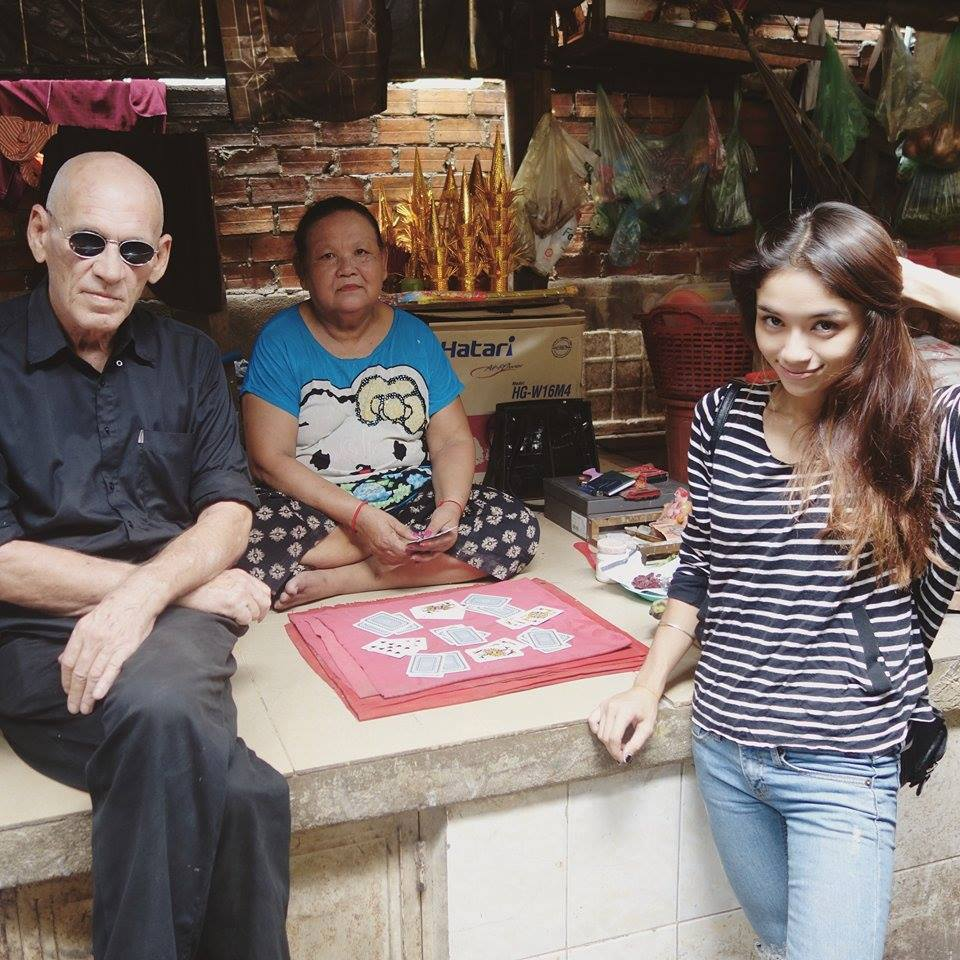 Chris Minko and his daught Anya, who is half Thai, discuss being stereotyped with Khmer Times reporters