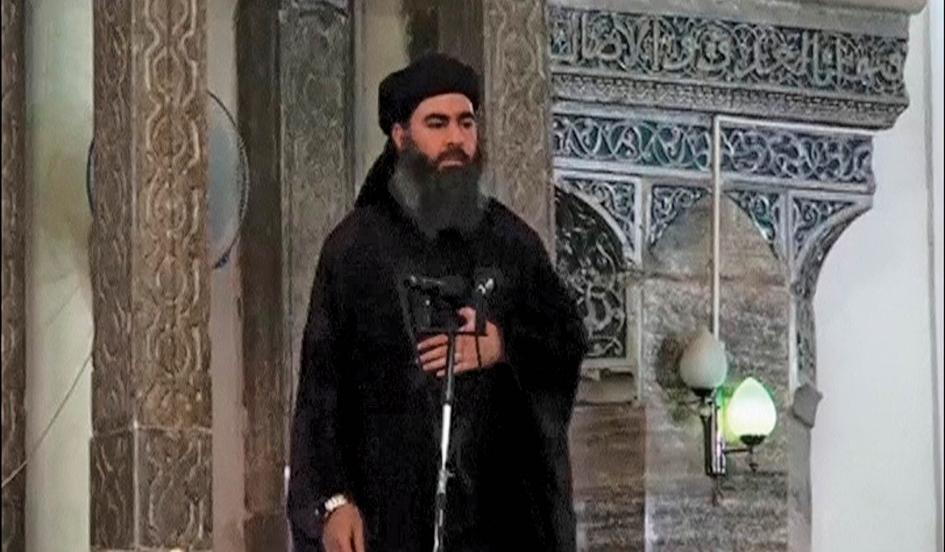 The elusive leader of the Islamic State, Abu Bakr al-Baghdadi