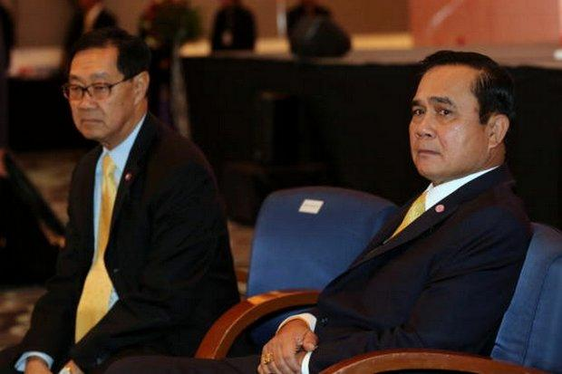 Prime Minister Prayut Chan-o-cha is not looking for advice on a cabinet reshuffle, but economy czar MR Pridiyathorn