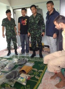 It is thought that the man is 28-years-old and had rented out four apartments in the area Read more: http://www.dailymail.co.uk/news/article-3215128/Thai-police-arrest-foreigner-suspected-deadly-bomb-attack-Bangkok-shrine.html#ixzz3kD7eKyen Follow us: @MailOnline on Twitter | DailyMail on Facebook