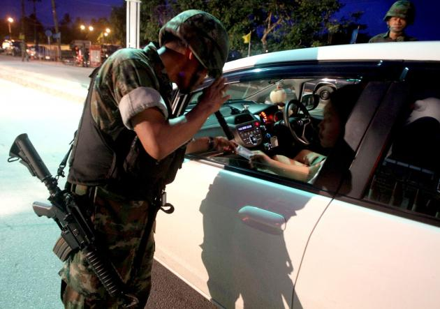 Army and Police Tighten Security in Chiang Rai following Bangkok Blast