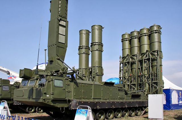 "The S-300VM ""Antey-2500"" (NATO reporting name SA-23 Gladiator\Giant) is a Russian anti-ballistic missile system"