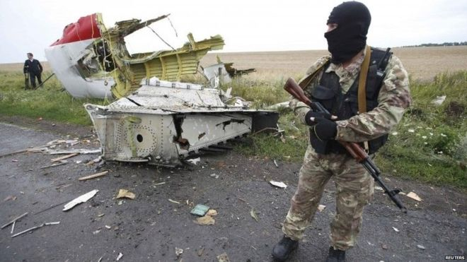 Investigators of Flight MH17 Find Fragments of a Russian Missile