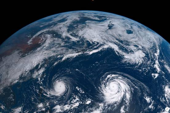 Twin Typhoons Head Straight Towards Southeast Asia