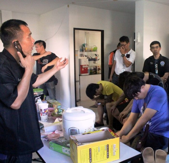 Chiang Mai Immigration Busts 4 South Koreans for Online Gambling
