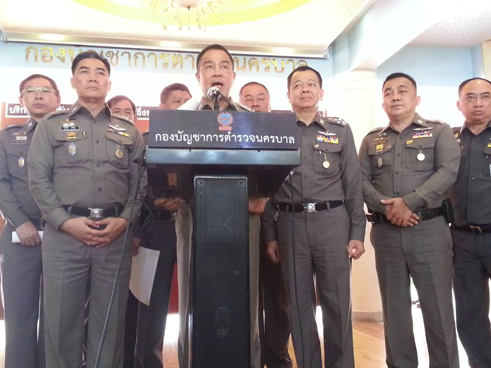 A massive manhunt for the suspects is underway, Pol Gen Somyot said