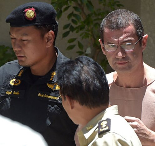 Swiss national Xavier Andre Justo's conviction in Thailand for alleged corporate espionage and extortion