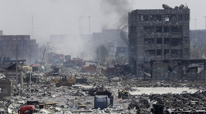 Deadly blast in Chinese port in Tianjin kills dozen