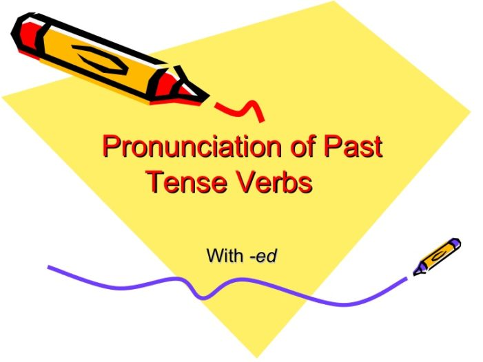 Jen's English Tip's – Pronunciation of the simple past -ed