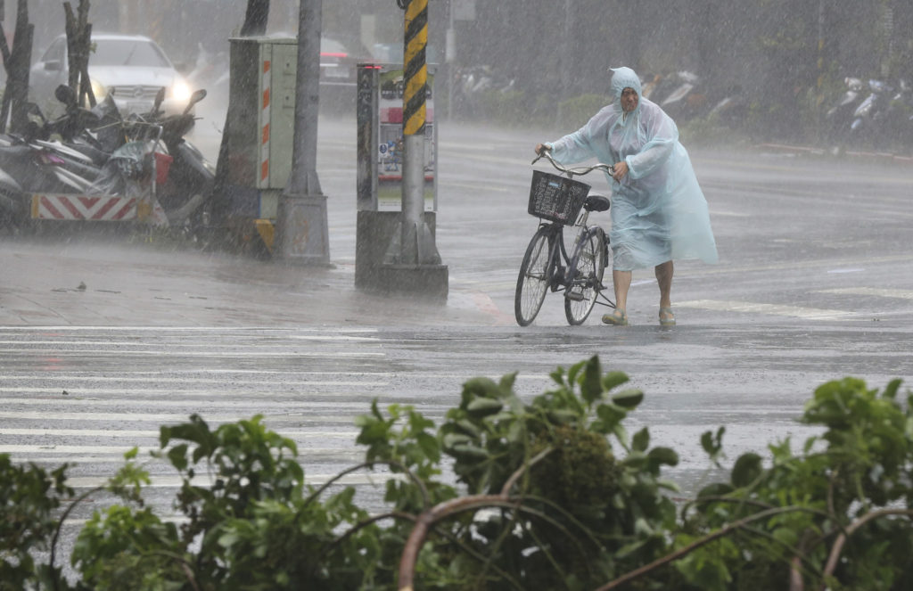 Soudelor arrived with wind speeds of more than 100 miles per hour near its center, with gusts approaching 130 m.p.h., Taiwan's Central Weather Bureau said