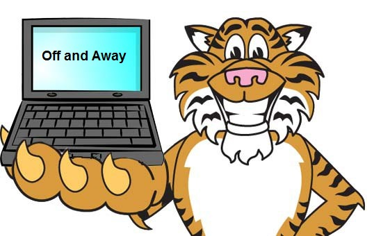 Clip art illustration of Cartoon Tiger Standing With Tooth Missing is available in a clipart set. Image is an ideal school mascot, team mascot, sport mascot, or brand mascot for promoting anything to do with a tiger, school teams, and wildlife.