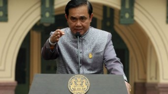 Prime Minister Prayut Chan-o-cha blasted critics of the draft constitution written by his appointees.