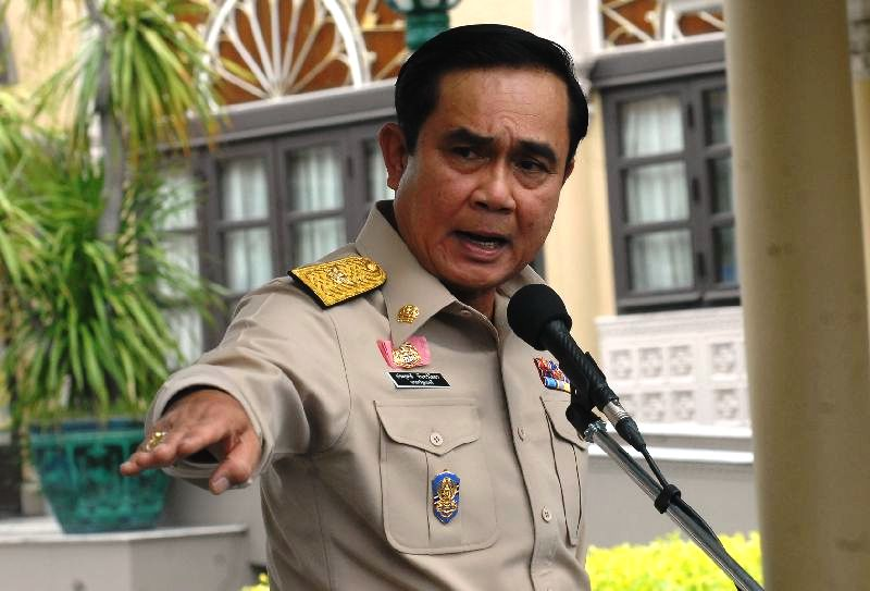 prime minister asked the media to tell them to stop badmouthing the government or the NCPO.