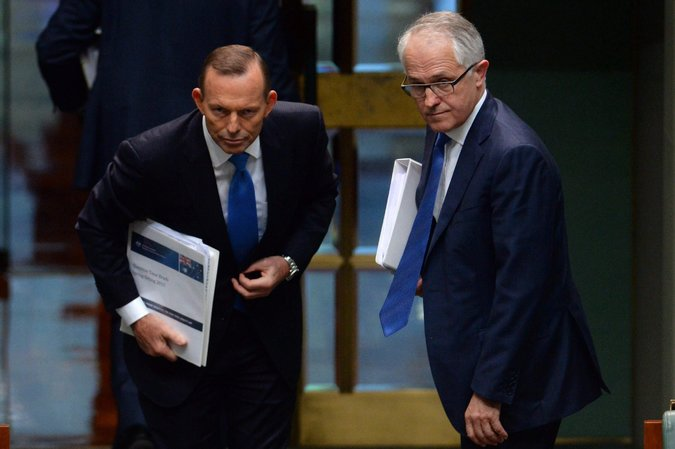 Australian Prime Minister Tony Abbott Ousted by Malcolm Turnbull
