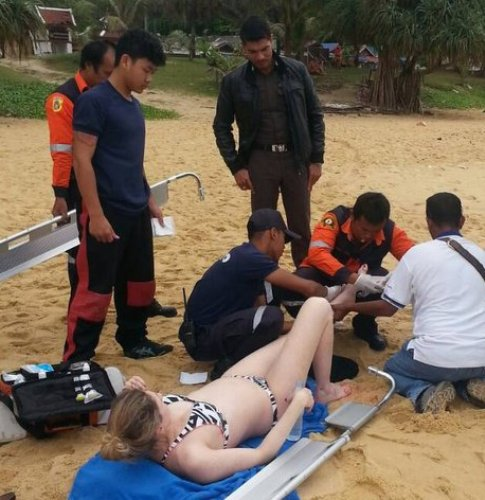 Australian Woman Bitten by Bull Shark in Phuket