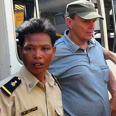 "Pedophile Michael Jones Get Reduced Sentence in Cambodia, Stating He only touched the Girls in a ""Fatherly Way"""