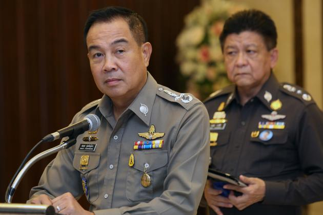 Pol Gen Somyot Poompanmuang, issued the warning at a meeting with 259 immigration police officers