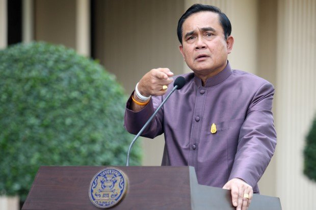 Prime Minister Prayut tells Reporters No More Military Coups