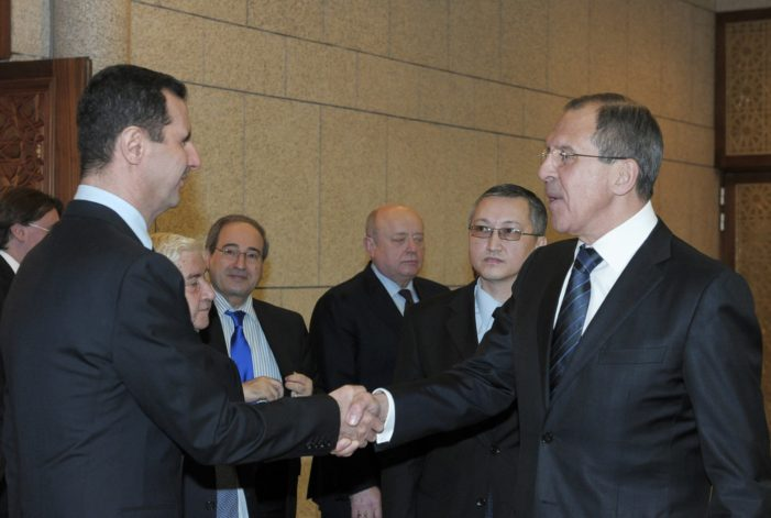 Russia Say's World Powers Need to Arm Syrian President Bashar Assad's Forces