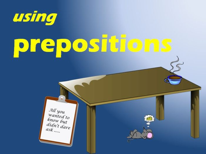 Jen's English Tip's – Mistakes with Prepositions